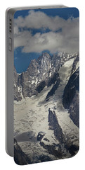 Cloud Cover In The Alps Portable Battery Charger