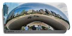 Cloud Gate Aka Chicago Bean Portable Battery Charger