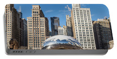 Cloud Gate To Chicago Portable Battery Charger