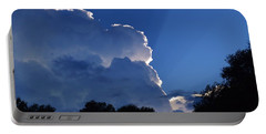 Cloud Highlights Portable Battery Charger by Warren Thompson