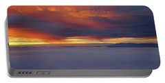 Cloud Layer Sunrise At Dead Horse Point State Park Portable Battery Charger