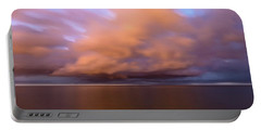 Cloud Motion At Dawn  Portable Battery Charger