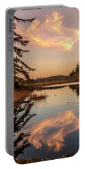 Cloud On Cranberry Lake Portable Battery Charger