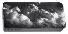 Cloud Power Over The Lake Portable Battery Charger by John Norman Stewart