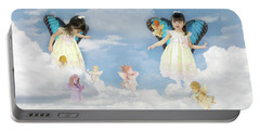 Cloud Princess Portable Battery Charger