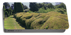 Portable Battery Charger featuring the photograph Cloud Pruned Hedge by Tony Murtagh