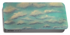Cloud Study Cropped Image Portable Battery Charger