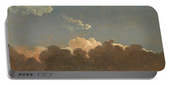 Cloud Study. Distant Storm Portable Battery Charger by Simon Denis