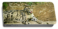 Clouded Leopard 1 Portable Battery Charger