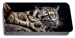 Leopard Portable Battery Charger by David Millenheft