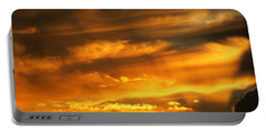 Clouded Sunset Portable Battery Charger