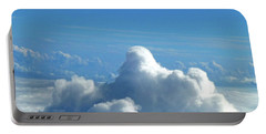 Portable Battery Charger featuring the photograph Clouds And Sky M3 by Francesca Mackenney