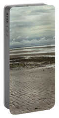 Clouds And Sun At Mayflower Beach Portable Battery Charger