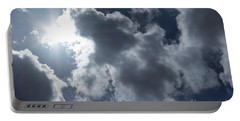 Clouds And Sunlight Portable Battery Charger