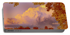 Clouds At Sunset, Southeastern Pennsylvania Portable Battery Charger