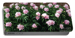 Clouds Of Peony Portable Battery Charger