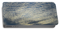 Portable Battery Charger featuring the photograph Clouds Of That Day  by Lyle Crump