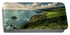 Clouds Over Bixby Bridge Portable Battery Charger
