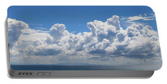 Clouds Over Catalina Island - Panorama Portable Battery Charger
