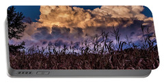 Clouds Over Fagagna Portable Battery Charger