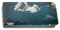 Portable Battery Charger featuring the photograph Clouds Over Glacier, Banff Np by William Lee