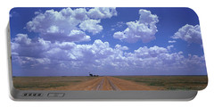 Clouds Over Prairie Amarillo Tx Portable Battery Charger