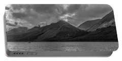 Clouds Over Loch Lochy, Scotland Portable Battery Charger