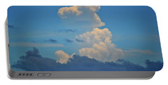 Portable Battery Charger featuring the photograph Clouds Over Tybee Island by Tara Potts