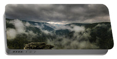 Clouds Rising At Lindy Point Portable Battery Charger