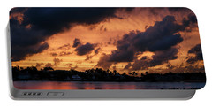 Portable Battery Charger featuring the photograph Cloudscape by Laura Fasulo