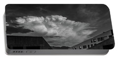 Cloudy Sky Over Bolzano Portable Battery Charger