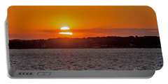 Cloudy Sunset Portable Battery Charger