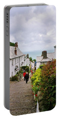 Clovelly High Street Portable Battery Charger by Richard Brookes