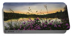 Clover Sunrise  Portable Battery Charger