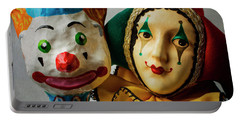 Clown And Jester Portable Battery Charger