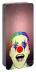 clown Christian Bale Portable Battery Charger