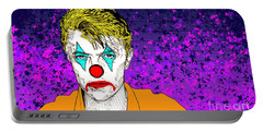 Clown David Bowie Portable Battery Charger