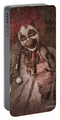 Clown Doctor Being Strangled By Autopsy Limb Portable Battery Charger