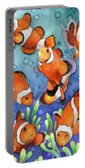 Clown Fish Portable Battery Charger