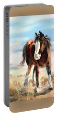 Clydesdale Foal Portable Battery Charger