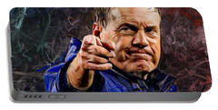 Coach Bill Belichick Portable Battery Charger