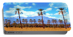 Coachella Date Palms Portable Battery Charger