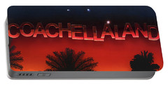 Coachellaland Portable Battery Charger
