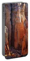Coal Mine Hoodoos Portable Battery Charger by David Cote