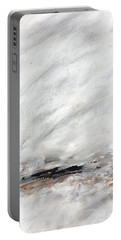 Coast #14 Ocean Landscape Original Fine Art Acrylic On Canvas Portable Battery Charger