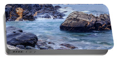 Coast Of Maine In Autumn Portable Battery Charger