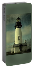 Coastal Breeze At Yaquina Head Portable Battery Charger