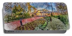 Coastal Carolina University Digital Watercolor Portable Battery Charger by David Smith