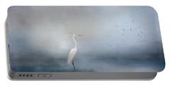 Coastal Egret Portable Battery Charger