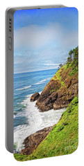 Coastal View From North Head Portable Battery Charger